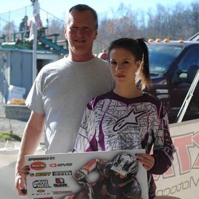 Dion Coleman with Lauren
